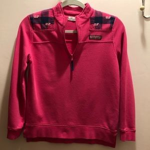 Vineyard Vines Shirts & Tops - Vineyard Vines Girls' Sweatshirt Pink M (10-12)